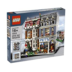 LEGO Creator Pet Shop 10218 from LEGO Creator
