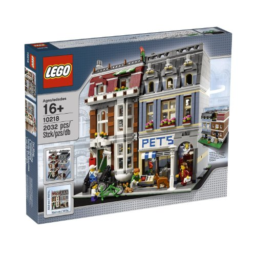 New LEGO Creator Pet Shop 10218