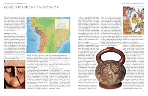 a brief history of the inca empire Machu picchu is believed to have been built by pachacuti inca yupanqui, the ninth ruler of the inca, in the mid-1400s an empire builder, pachacuti initiated a series of conquests that would eventually see the inca grow into a south american realm that stretched from ecuador to chile.