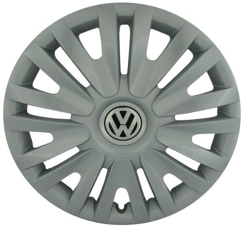 Volkswagen - 5K0601147FVZN Golf 15 Inch New Factory Original Equipment Hubcap (Vw Rabbit Wheel Cover compare prices)