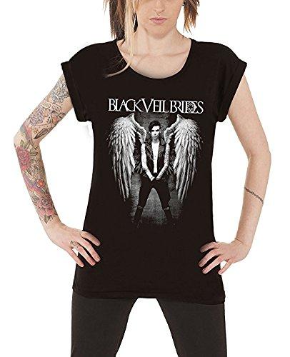 Black Veil Brides Fallen Angel Junior Donna Black Maglietta