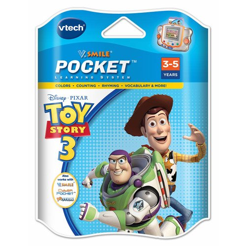 V. Smile Pocket Learning System Toy Story 3 Game