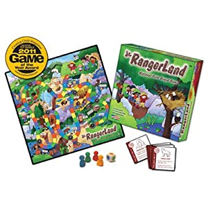 Jr. Rangerland 104902 Parque Nacional Board Game