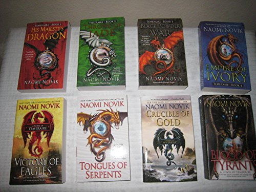 Books 1-8 in Naomi Novik's Temeraire Series (His Majesty's Dragon,Throne of Jade, Black Powder War, Empire of Ivory, Victory of Eagles,Tongues of Serpents, Crucible of Gold, Blood of Tyrants) (Jade Empire 2 compare prices)