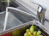 Mixing faucet single lever kitchen sink units rotating tap water [FRIEND STREET] Disney with your cleaning items (4 plain lever type)