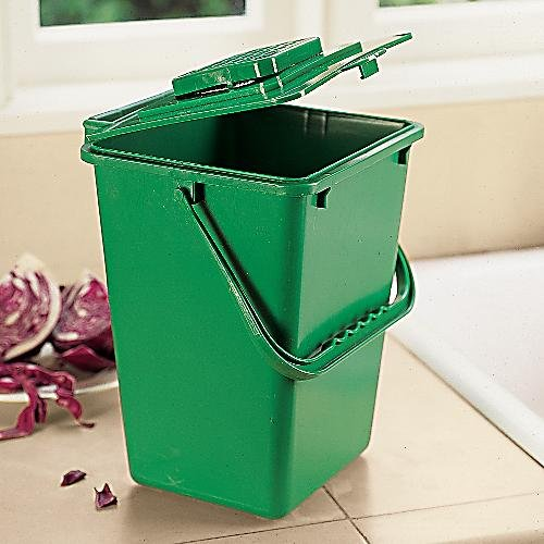 large kitchen compost bucket 2 5 gallon compost bin