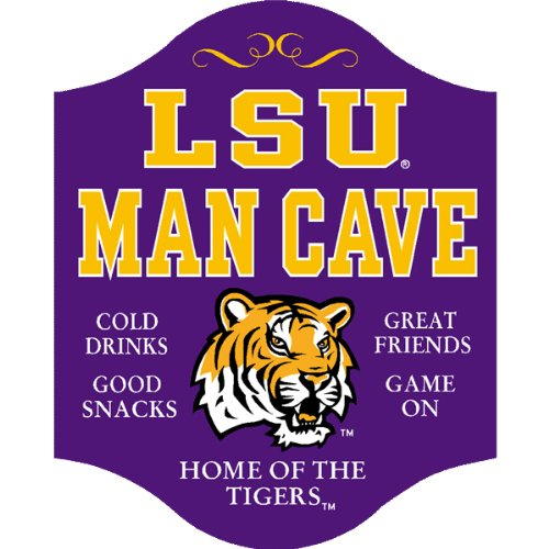 Handcrafted LSU Man Cave Sign at Amazon.com