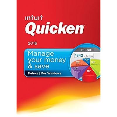 Quicken Deluxe 2016