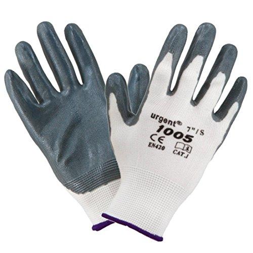 12-paires-de-gants-de-travail-EN420-Cat-I-Argent-Blanc-Urgent-1005-9-L