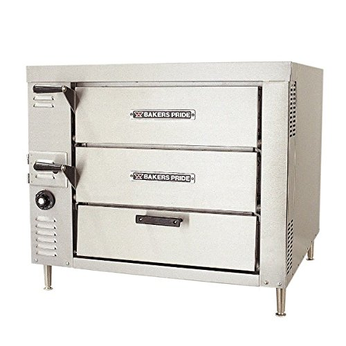 Bakers Pride HearthBake GP-62 Double Counter Top Pizza and Baking Gas Oven, 41 5/8 x 31 1/4 x 54 1/4 inch -- 1 each.