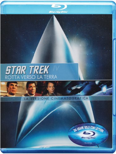Star Trek IV - Rotta verso la Terra (versione cinematografica) [Blu-ray] [IT Import]
