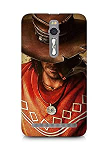 AMEZ Call of Juarez Gunslinger Back Cover For Asus Zenfone 2