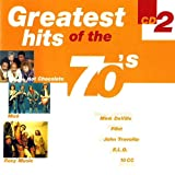 Greatest hits of the 70's cd 2 (CD Compilation, 18 Tracks) roxy music - love is the drug / mink deville - spanish stroll / mud - dyna-mite / motors - airport / tavares - whodunit / john travolta - greased lightnin' / e.l.o. - roll over beethoven / mac &