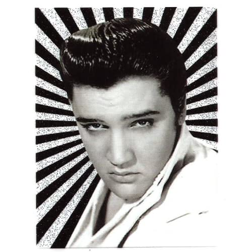 Amazon.com : Elvis Presley black and white Heat Iron On Transfer for T