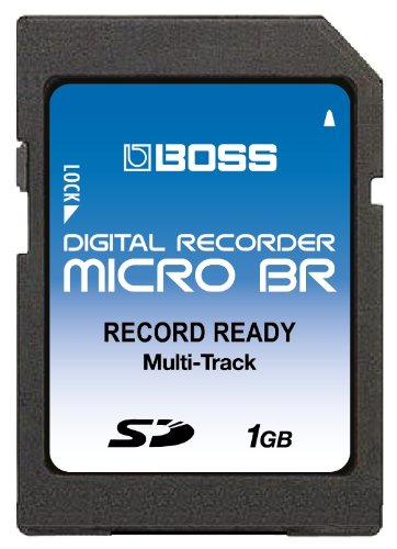 1GB Boss Roland SD Memory Card for Micro BR, Micro BR-80, BR-800 as good as more