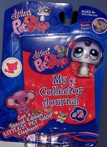 Littlest Pet Shop Activity Set My Collector Journal with Penguin