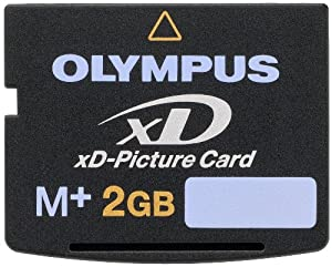 Olympus M+ 2 GB xD-PictureCard Flash Memory Card 2-Pack 202300