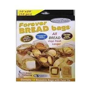 Forever Bread Bags 10 Per Box