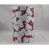 Hello Kitty Red Bow Tin Coin Bank Sanrio