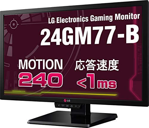 "Lg Electronics 24Gm77 24"" Widescreen Led Gaming Monitor, 350 Cd/M2 Brightness, 1080P Resolution, 144Hz Refresh Rate, D-Sub/Dvi-D/Hdmi/Displayport, Usb"