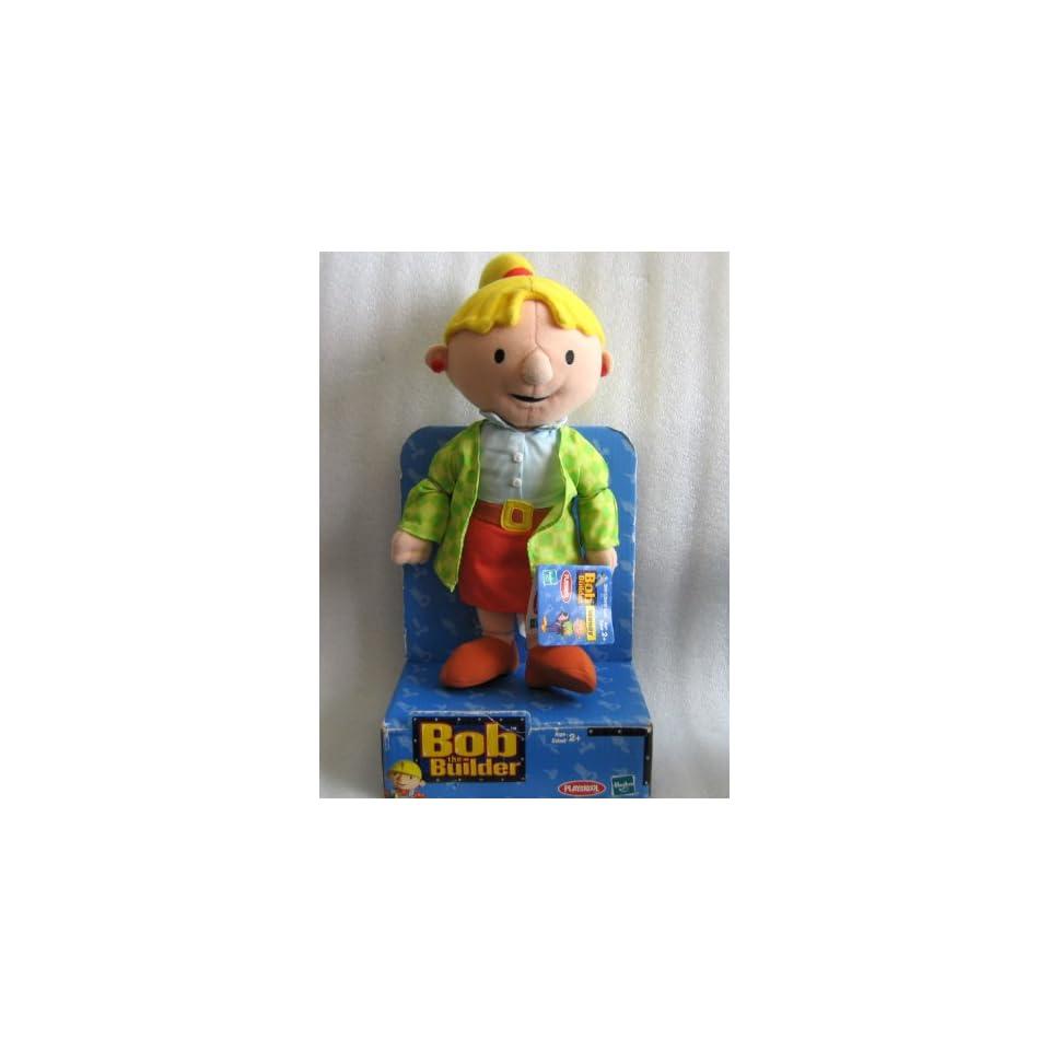 Bob the Builder   Plush Wendy Doll   2000 Hasbro/Playskool