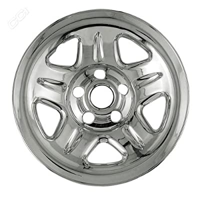 Coast To Coast IWCIMP05X 15 Inch Chrome Wheelskins With 5 Dimpled Spokes - Pack Of 4