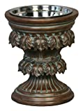 Unleashed Life Baroque Collection Old World Raised Feeder, Large