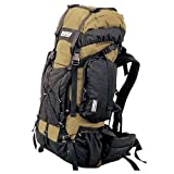 TAIGA International® Traverse – Travel and Hiking Backpacks Back Packs, Khaki, Medium