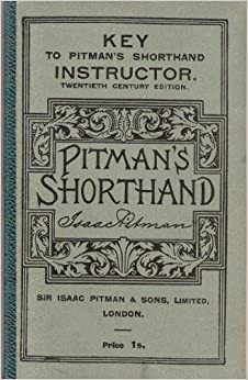 pitman shorthand instructor and key book pdf free download