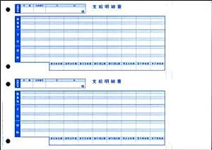 オービックビジネスコンサルタント 単票支給明細書 1000セット 09-SP6101