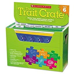 Scholastic - Trait Crate, Grade 6, Six Books, Learning Guide, CD, More 0545318629 (DMi EA