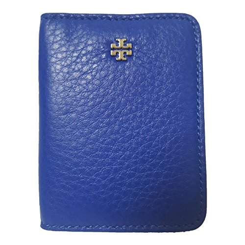 Tory Burch Leather ID Card Holder (Jelly Blue) (Tory Burch Jelly compare prices)