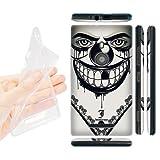 Head Case Designs Evil Clown Bandana Soft Gel Back Case Cover for Nokia Lumia 925 RM 892