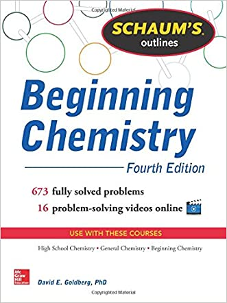 Schaum's Outline of Beginning Chemistry: 673 Solved Problems + 16 Videos (Schaum's Outlines)
