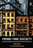 """BOOKS RECEIVED:  Conrad Phillip Kottak, """"Prime-Time Society: An Anthropological Analysis of Television and Culture"""" (Left Coast Press, 2009)"""