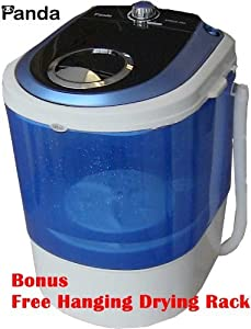 Bonus Package Panda Small Mini Portable Compact Washer Washing Machine 5.5lbs Capacity from panda