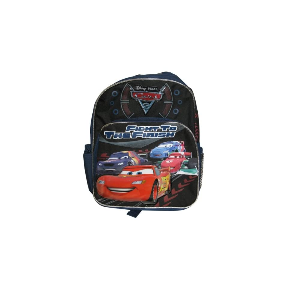 Disney Pixar Cars 2 Fight to the Finish Toddler Backpack Toys   Games 984c394bd8eb9