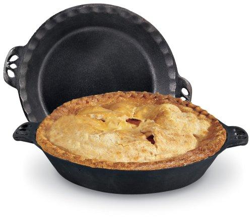"Camp Chef True Seasoned  Cast Iron Pie Pan 10"" CIPIE10"