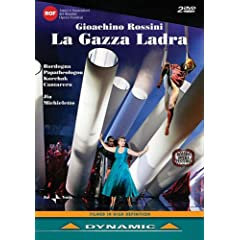 Giochino Rossini: La gazza ladra (Rossini Opera Festival) [DVD] [Import]