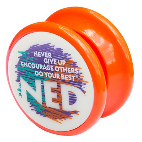 NED® Yo-Yo (Orange) Glow-in-the-dark face - 1