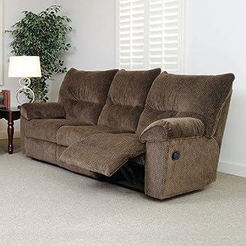 Double Reclining Sofa Color: Gazette Basil
