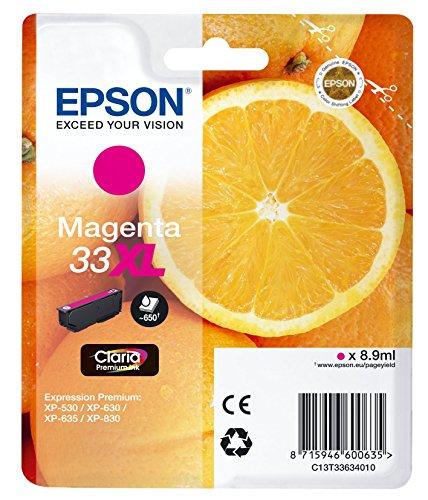 Epson Tintenpatrone Orange XL, Singlepack magenta