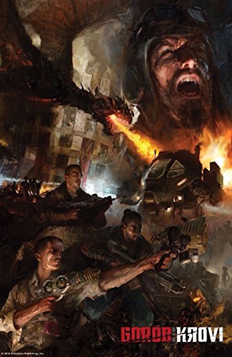 "Europe Style 1605 Call of Duty Black Ops 3 Zombie Gorod Krovi 24x36"" Art Silk Wall Poster"