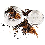 Alcoa Prime 1pc Metal Stainless Steel Coin Shape Pattern Herbal Herb Tobacco Grinder Smoke Cigar Magnetic Hot - B01NBQOFV6