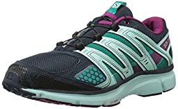 Salomon Women\'s X Mission 2 Running Shoe, Deep Blue/Igloo Blue/Mystic Purple, 6.5 M US