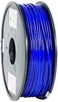 eSun PLA 3D Printer Filament, 3 mm Diameter, 1 kg Spool, Blue by Shenzhen Esun Industrial Co., Ltd.
