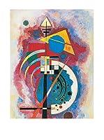 ArtopWeb Panel Decorativo Kandinsky Omaggio A Grohmann 90x60 cm Multicolor