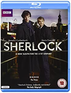 SHERLOCK SEASON 1: ORIGINAL UK CUT (Region Free) (Will only play on Blu-Ray players that support PAL and 50i)