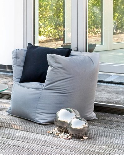 Outbag Sitzsack Sessel Valley Serie Fabric Farbe Antra