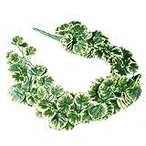 90CM Artificial Fake Faux Begonia Leaf Vine Plant Garland Wedding new